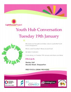 Youth Forum Flyer with logo's