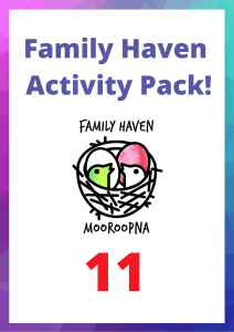 Family Haven Activity Pack 11