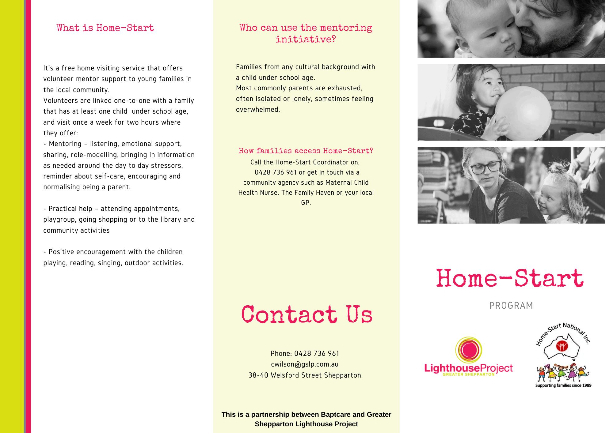 Homestart Flyer