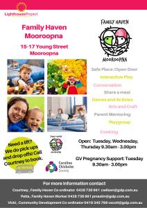 Information Sheet Mooroopna Family Haven Oct 2020