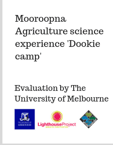 Mooroopna Agriculture science experience 'Dookie camp' (4)